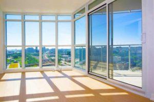 Alüminyum Beyaz Doğrama Kapı Pencere