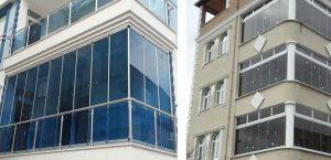 Cam Balkon Modelleri ve Görselleri - İstanbul