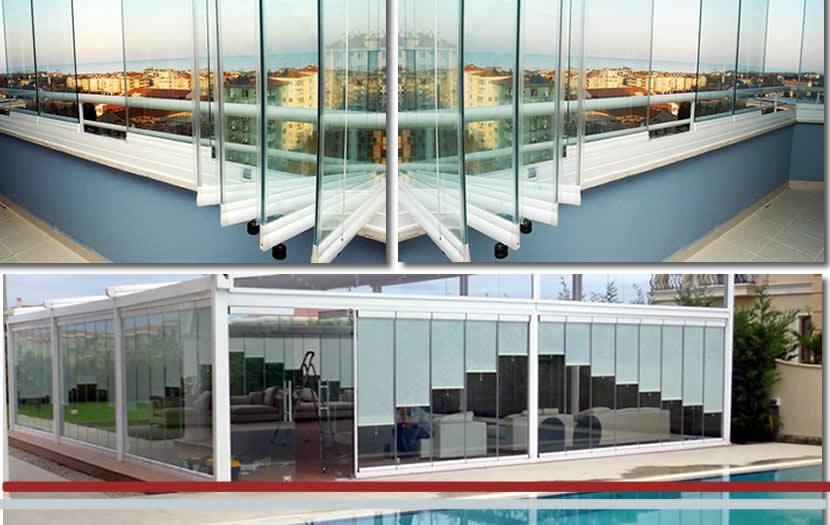 Katlanır Cam Balkon Modelleri | İstanbul